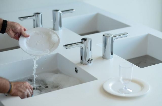 Neue Sanitäranlage